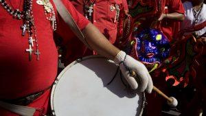 diablos danzantes instrumentos